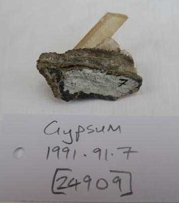 Gypsum (calcium sulphate)