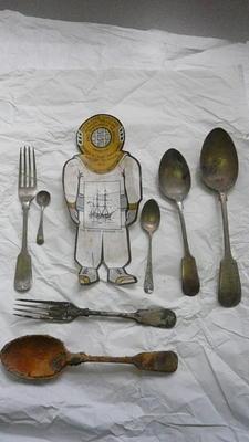 Eating spoon, Eating fork