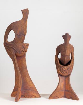 Uku work: Huaki Pouri series, Hine te Iwaiwa