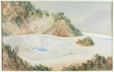 White Terrace Geyser