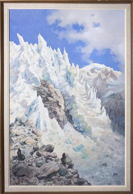 The Seracs, Hochstetter Glacier