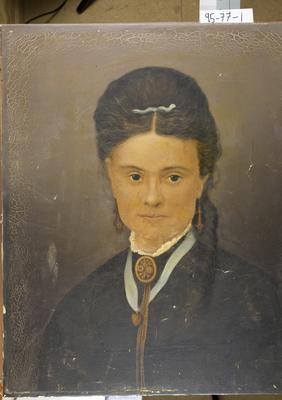 Untitled painting, possibly Mary Crawford
