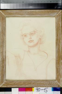 Drawing, Portrait; 1959; 4078