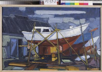 On The Hard, Evans Bay, Wellington; 1967; 4140