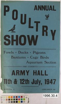Annual Poultry Show