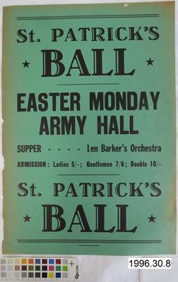 St Patrick's Ball