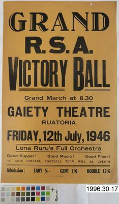 Grand R.S.A. Victory Ball