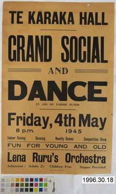 Grand Social and Dance