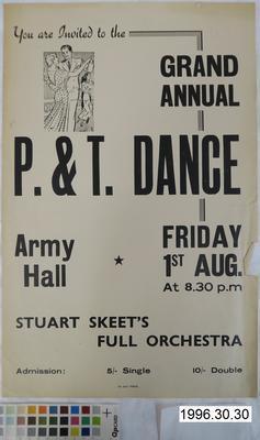 Grand Annual P. & T. Dance