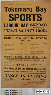 Tokomaru Bay Sports