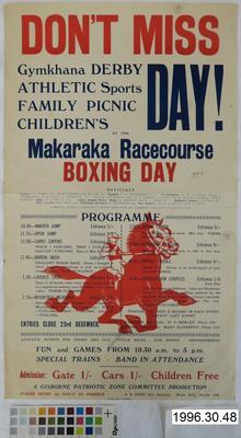 Gymkhana Derby Athletic Sports Family Picnic Children's Day!