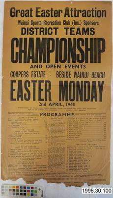 District Teams Championship