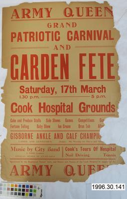 Army Queen Grand Patriotic Carnival and Garden Fete