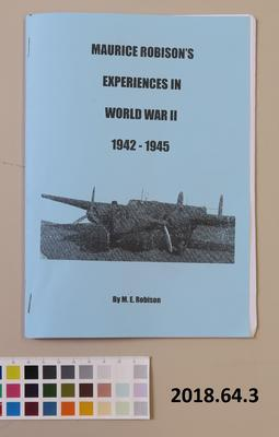 Maurice Robison's Experiences in World War II 1942-1945