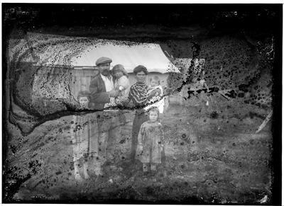 Glass plate negative
