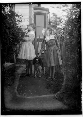 Glass plate negative; 1910-1920; 33439