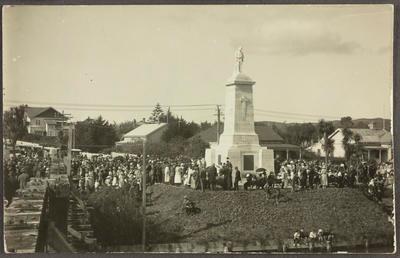 Gathering at Cenotaph