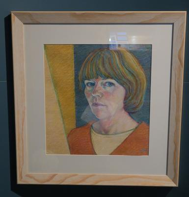 Portrait, Pastel; 1992; 13956
