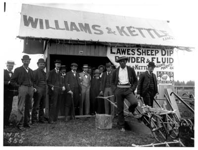 Williams and Kettle stand