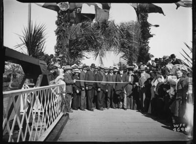 Tolaga Bay Bridge opening