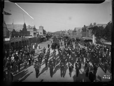 Gladstone Road procession