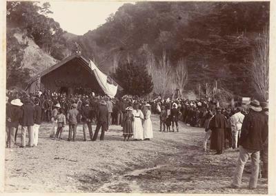 Rapata Wahawaha's Tangi