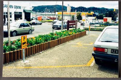 Motorbike parking area