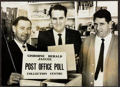 Gisborne Herald Jaycee Post Office Poll