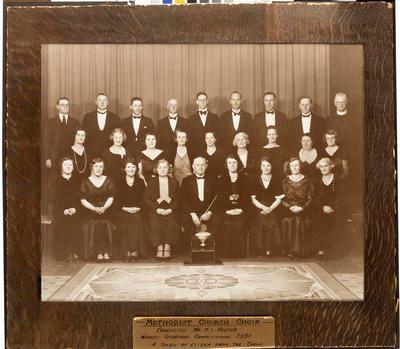 Methodist church choir
