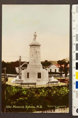 War Memorial, Gisborne, N.Z.
