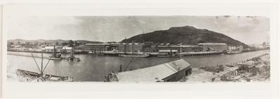 Panorama of Gisborne Harbour