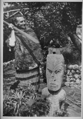 Portrait with taonga