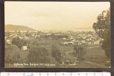 Gisborne from Barker's Hill
