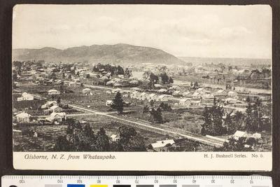 Gisborne, N.Z. from Whataupoko