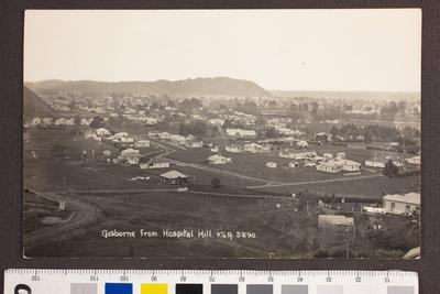 Gisborne from Hospital Hill