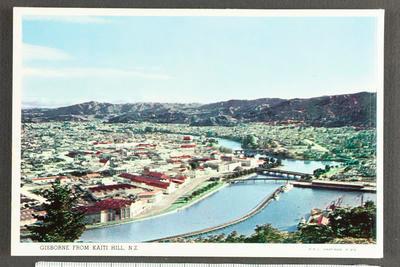 Gisborne from Kaiti Hill, N.Z.; 31206
