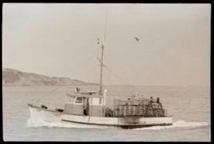 A Boat in Tūranganui-a-Kiwa/Poverty Bay