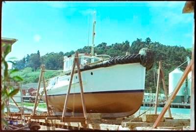 Pilot Boat in the Slipway