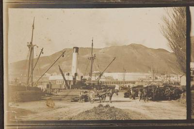 Wharf at Gisborne Harbour