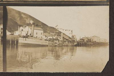 Vessels Moored in Gisborne Harbour