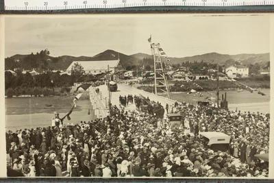 Opening of Second Peel Street Bridge