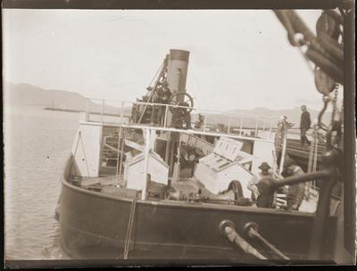 Dredge in Lyttelton harbour