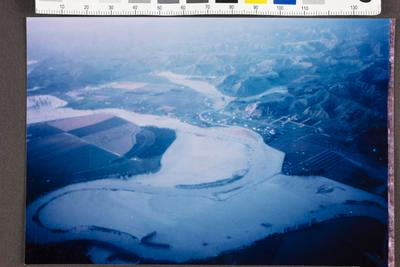 Waipaoa River in Flood; Apr 1989; 35157