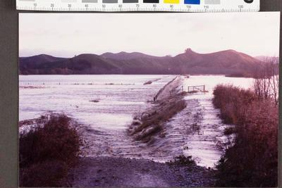 Waipaoa River in Flood; Apr 1989; 35158