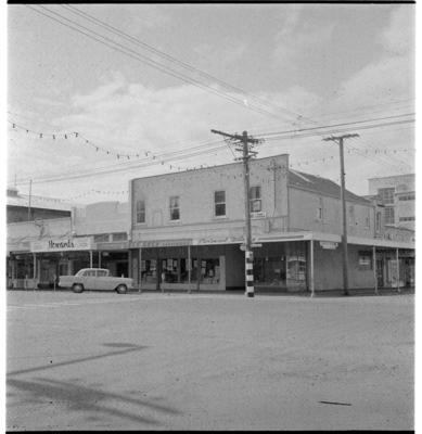 Gladstone Road and Lowe Street Corner