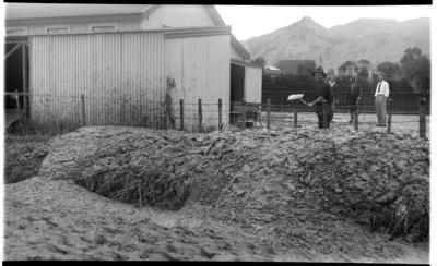 Muddy paddocks