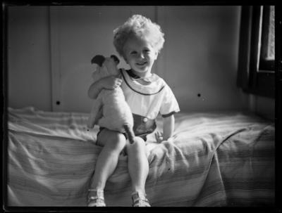 Child and toy