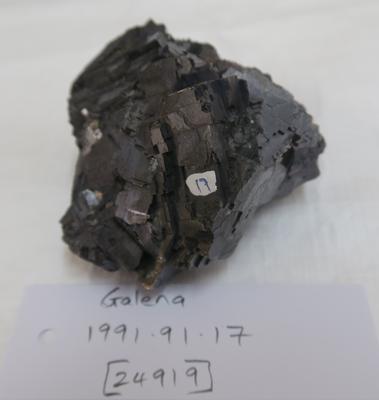 Galena (Lead sulphide)
