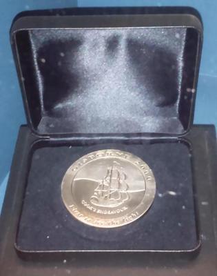 Gisborne's millennium medallion