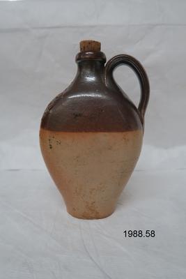 W Bailey stoneware bottle